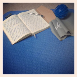 Can writing and Pilates help each other?